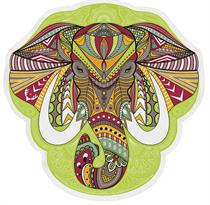 Купить Круглое пляжное полотенце Слон