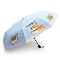 Зонт Corrci с собачкой корги