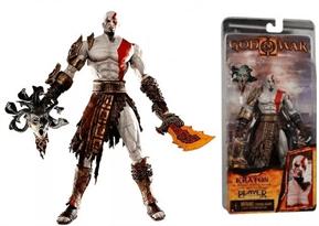 Купить Фигурку Кратоса с головой Медузы (Kratos God of War with Medusa head)
