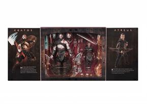 Купить Набор из 2 фигурок: Кратос и Атреус (Kratos Atreus Figures God of War)