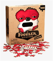 Пазл красный монстр Fuggler