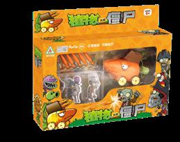 """Купить Игровой набор Ракетная морковь """"Зомби против Растений"""" (Plants vs. Zombies)"""