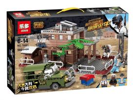 Конструктор Военная база ПУБГ (PUBG) 560 деталей купить с доставкой