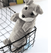 Пенал мягкая игрушка собачка