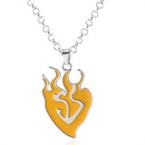 Купить Желтый кулон символ из аниме RWBY (Руби)