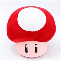 """Купить мягкую игрушка красный грибочек из """"Супер Марио"""""""