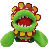 Растение пиранья игрушка из супер марио