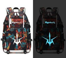 Рюкзак светящийся в темноте из аниме Код Гиас (Code Geass) разноцветный купить