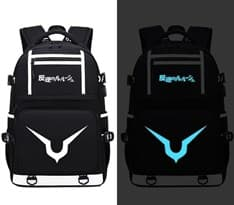 Рюкзак светящийся в темноте из аниме Код Гиас (Code Geass) Цвет черный купить Москва