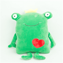 Купить мягкую игрушку подушку Лягушку недорого