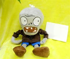 Купить Мягкая игрушка Зомби в коричневом пиджаке 30 см (Plants vs Zombies)