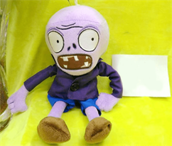 Купить Мягкую игрушку Зомби в синем пиджаке 30 см (Plants vs Zombies)