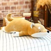 Плюшевая игрушка подушка Шиба Ину (55см) купить Москва