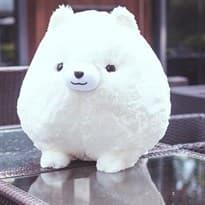 Плюшевая игрушка Корги (20см) белый цвет купить Москва