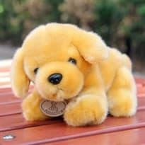 Плюшевая игрушка золотой Ретривер (23см) купить Москва