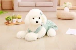 Плюшевая игрушка Пудель в мятном платье (45см) купить Москва
