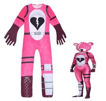 Купить Детский костюм Розовый медведь (Cuddle Team Leader Fortnite)