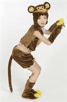 Костюм обезьяны для девочек
