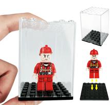 Купить Прозрачный ящик для хранения лего-фигурки в Москве