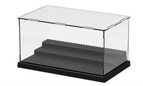 Купить Прозрачный ящик для хранения лего-фигурок 3 ступеньки в Москве