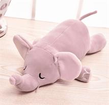 Дорожная подушка-игрушка розовый Слон купить в Москве