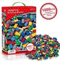 Купить Детали для лего (1000 деталей)