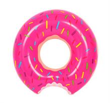 Купить Надувной круг розовый Пончик
