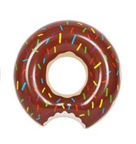 Купить Надувной круг шоколадный пончик