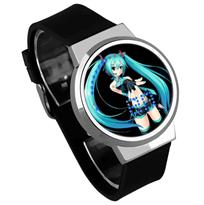 Купить Черные часы Хацунэ Мику (Hatsune Miku)
