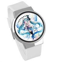 Купить Белые часы Хацунэ Мику (Hatsune Miku)