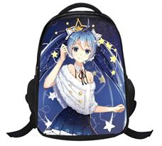 Купить Школьный рюкзак Хацунэ Мику (Hatsune Miku) черного цвета
