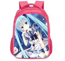 Купить Розовый рюкзак Хацунэ Мику (Hatsune Miku) для школы