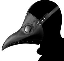 Купить Черную маску Чумного Доктора
