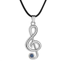 Купить Кулон Хацунэ Мику (Hatsune Miku) скрипичный ключ
