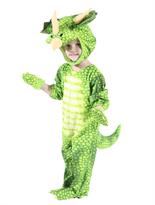 Заказать Костюм зелёный динозавр Трицератопс