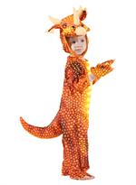 Заказать Костюм красный динозавр Трицератопс