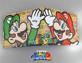 Купить Кошелек Супер Марио и Луиджи (разноцветный)