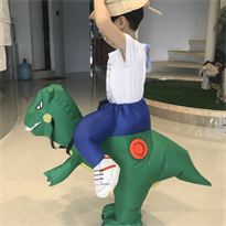 Костюм динозавра надувной