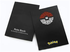 Купить Блокнот с крафтовой бумагой Покебол (Pokemon)