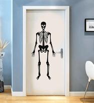 Купить наклейку скелет