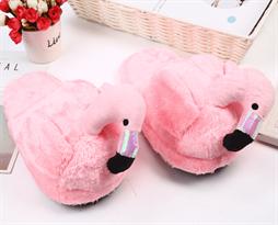 Купить Розовые тапочки Фламинго