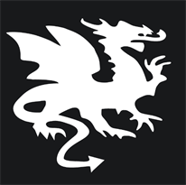 Купить наклейку дракон