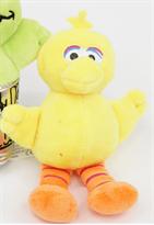 Купить Брелок на рюкзак Большая Желтая Птица из Улицы Сезам