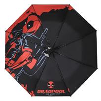 Купить Черный зонт с Дэдпулом (Deadpool) в Москве