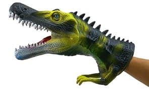 Кукла на руку динозавр для домашнего театра