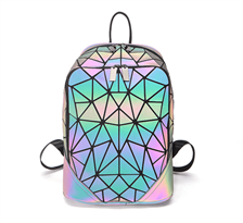 Геометрический голографический рюкзак купить в Москве