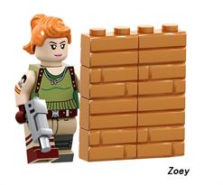 Купить Лего фигурку Зои Фортнайт (Zoey Fortnite) в Москве