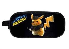Купить Черный пенал Детектив Пикачу (Pokemon Detective Pikachu) в Москве