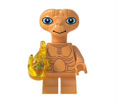 Лего фигурка Инопланетянин (ET) купить в Москве