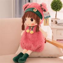 Купить Мягкую игрушку куклу Mayfair в розовой одежде 40 см в Москве